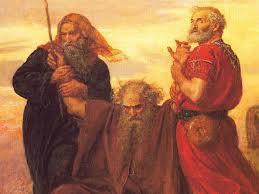 102 - Moses Over Amalek
